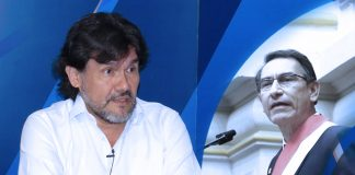 Javier Torres - Martín Vizcarra (Foto: Congreso)