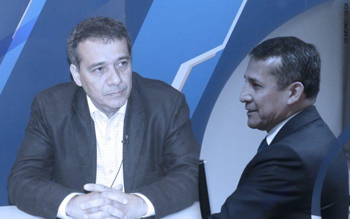 Alonso Segura - Ollanta Humala (Foto: Congreso)