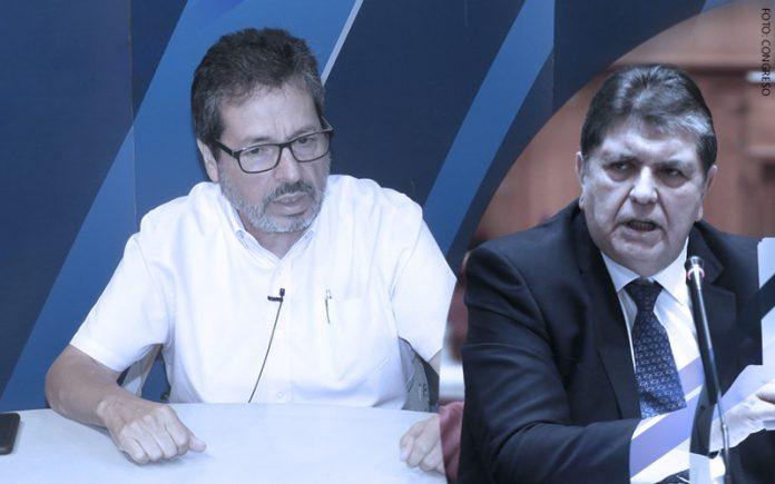 Antonio Maldonado - Alan García (Foto: Congreso)