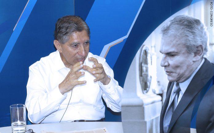 Avelino Guillén - Luis Castañeda Lossio - (Foto: Congreso)