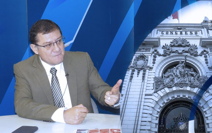 Jorge Chávez Cotrina - Congreso (Foto: Parlamento)