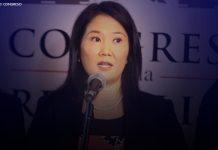 Keiko Fujimori (Foto: Congreso)