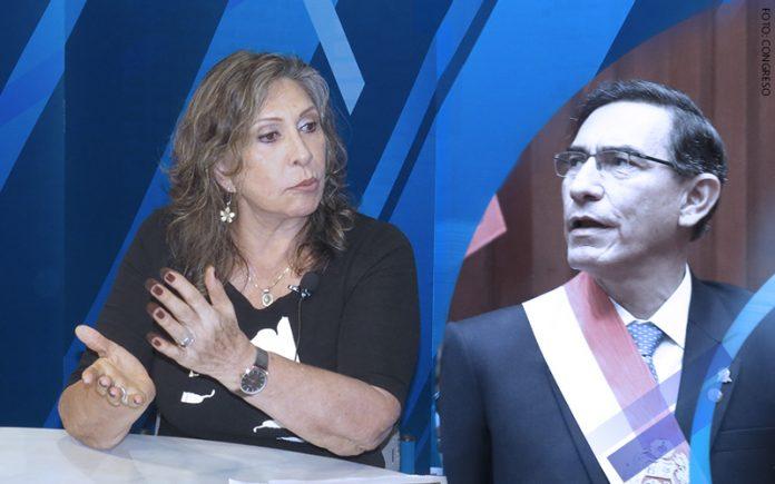 Zenaida Solís - Martín Vizcarra - (Foto: Congreso)