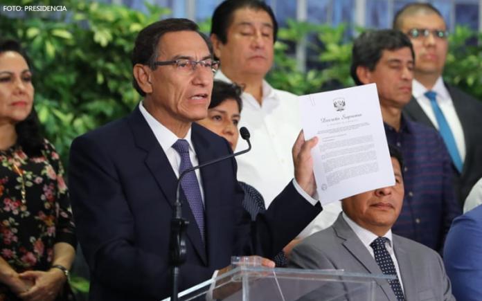 Mensaje a la Nación - Martín Vizcarra (Foto: Presidencia)