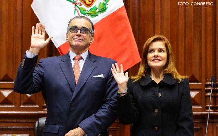 Pedro Olaechea - Mercedes Aráoz - Foto: Congreso