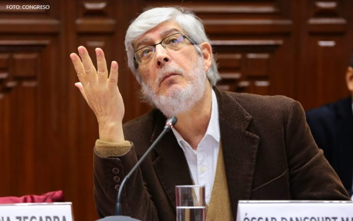 Óscar Dancourt (Foto: Congreso)