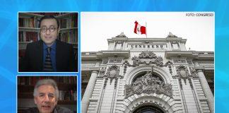 Glatzer Tuesta - Álvaro Vargas Llosa - Congreso (Foto-Parlamento)