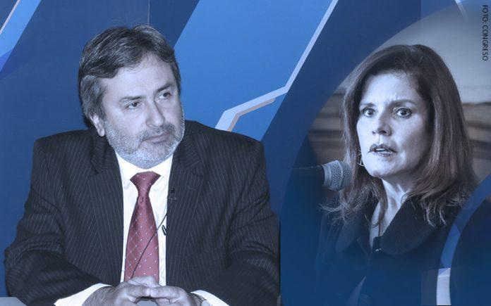 Juan Jiménez Mayor - Mercedes Aráoz (Foto: Congreso)
