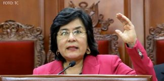 Marianella Ledesma (Foto: Tribunal Constitucional)