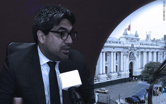 Martín Benavides - Congreso (Foto: Parlamento)