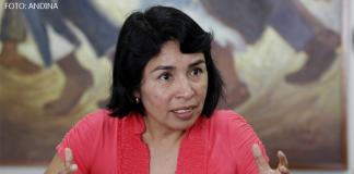 Patricia Balbuena - (Foto: Andina)