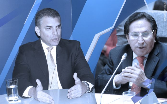 Rafael Vela - Alejandro Toledo (Foto: Congreso)