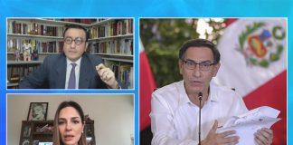 Glatzer Tuesta / Mávila Huertas / Martín Vizcarra (Foto: Presidencia)
