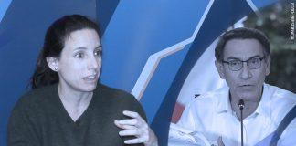 María Alejandra Campos - Martín Vizcarra (Foto: Presidencia)