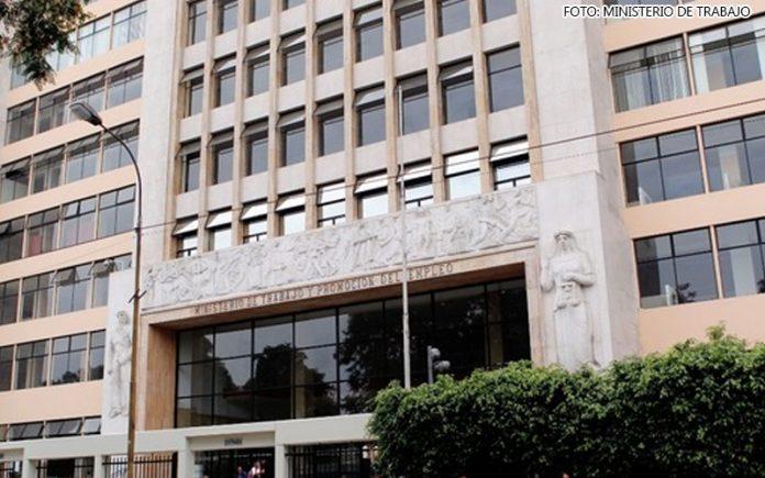 Ministerio deTrabajo (Foto: MTPE)