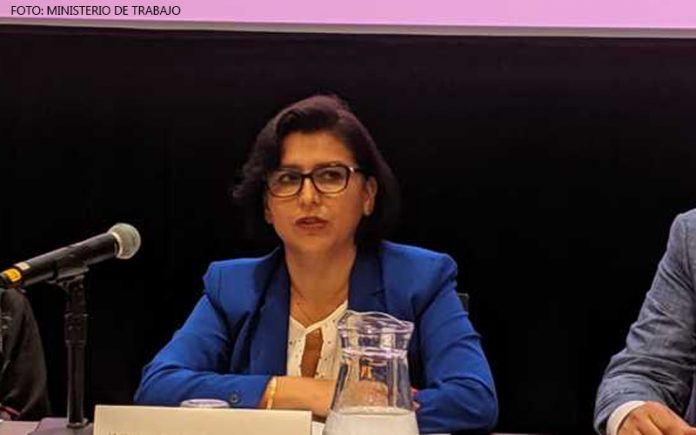 Sylvia Cáceres - (Foto: Ministerio de Trabajo)