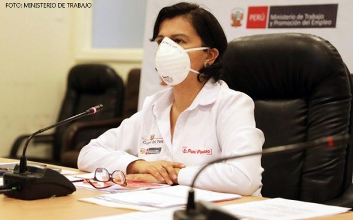 Sylvia Cáceres (Foto: Ministerio de Trabajo)