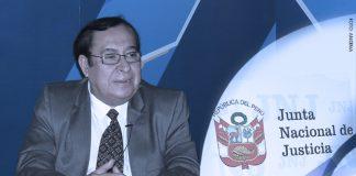 Víctor Prado - Junta Nacional de Justicia (Foto: Andina)