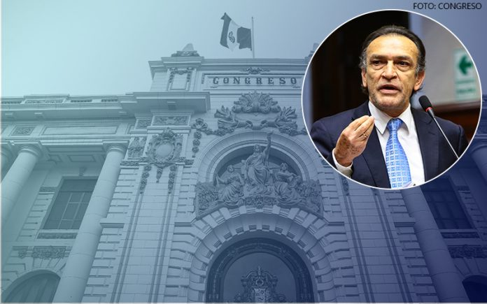 Congreso de la República - Héctor Becerril (Foto: Parlamento)