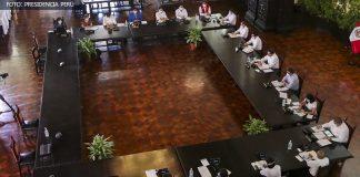 Consejo de Ministros - (Foto: Presidencia Perú)