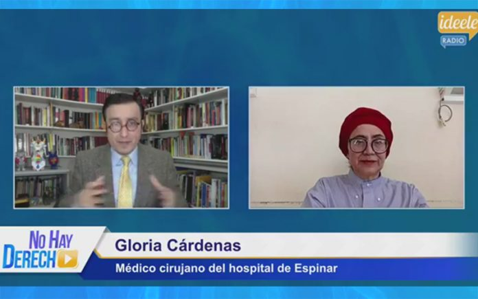 Glatzer Tuesta - Gloria Cárdenas - Ideeleradio
