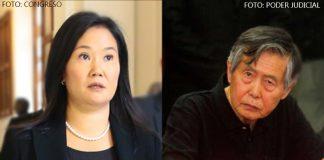Keiko Fujimori (Foto: Congreso) - Alberto Fujimori (Foto: Poder Judicial)