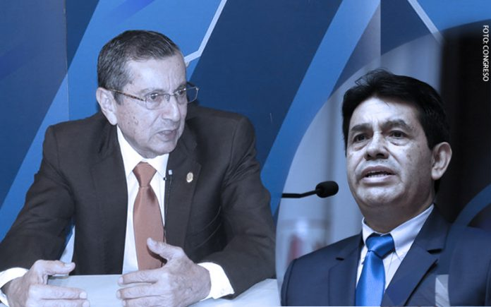 Víctor Cubas - Tomás Gálvez (Foto: Congreso)