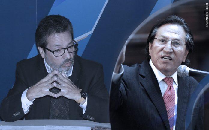 Antonio Maldonado - Alejandro Toledo (Foto: Congreso)
