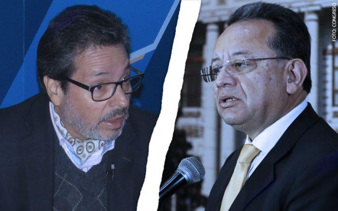 Antonio Maldonado - Edgar Alarcón - (Foto: Congreso)