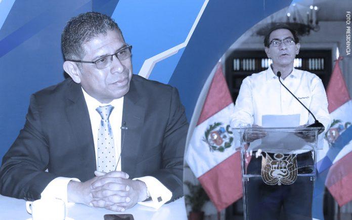 César Azabache - Martín Vizcarra (Foto: Presidencia)