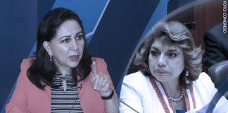Gloria Montenegro - Zoraida Ávalos (Foto: Congreso)