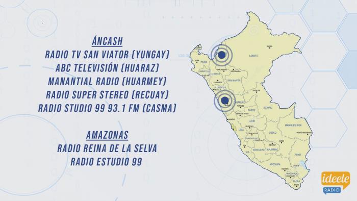 Ideeleradio - Áncash - Amazonas - NHD