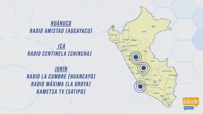 Ideeleradio - Huánuco - Ica - Junín - NHD