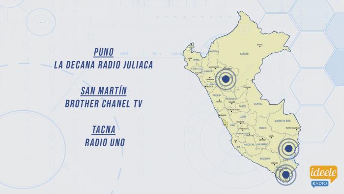 Ideeleradio - Puno - San Martín - Tacna - NHD