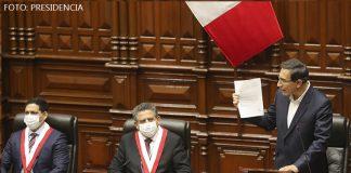 Martín Vizcarra - Congreso (Foto-Presidencia)