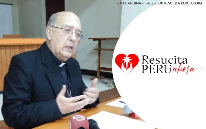 Pedro Barreto - Resucita Perú Ahora (Foto: Andina - Facebook)