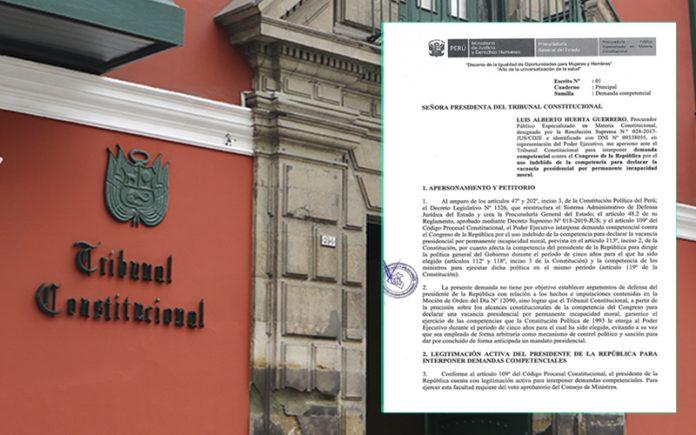 Tribunal Constitucional - Demanda competencial (Foto: Andina)