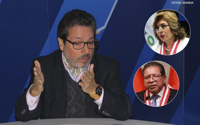 Antonio Maldonado - Zoraida Ávalos - Pablo Sánchez (Fotos: Andina)