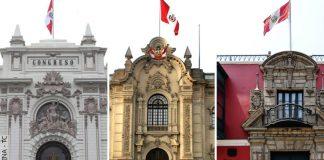 Congreso - Palacio de Gobierno - Tribunal Constitucional (Fotos: Andina - TC)