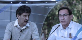 Eduardo Zegarra - Martín Vizcarra - Foto: Presidencia