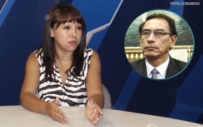 Mirtha Vásquez - Martín Vizcarra (Foto: Congreso)