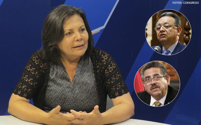 Rocío Silva Santisteban - Edgar Alarcón - Manuel Merino de Lama - Fotos: Congreso