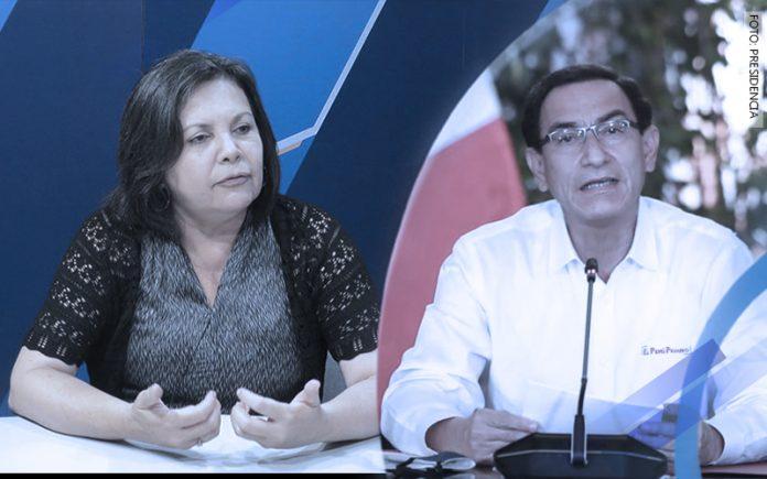 Rocío Silva Santisteban - Martín Vizcarra (Foto: Presidencia)