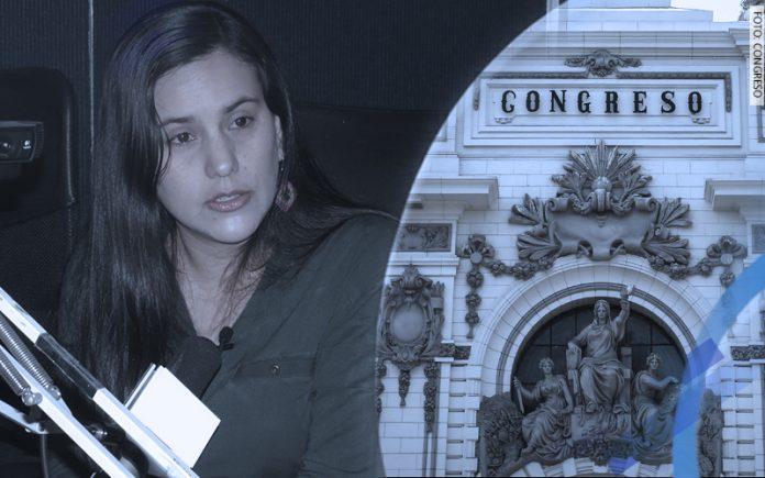 Verónika Mendoza - Parlamento (Foto: Congreso)