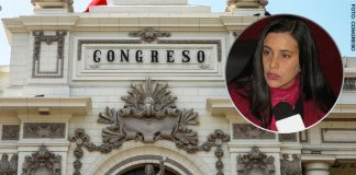 Verónika Mendoza - Parlamento (Foto-Congreso)
