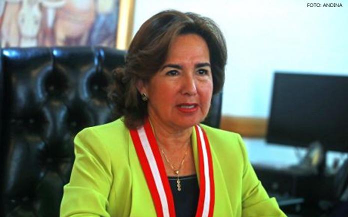 Elvia Barrios - (Foto: Andina)