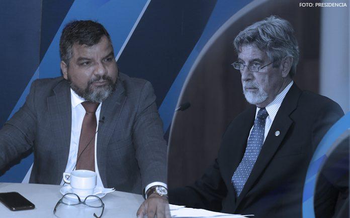 Julio Arbizu - Francisco Sagasti (Foto: Presidencia)