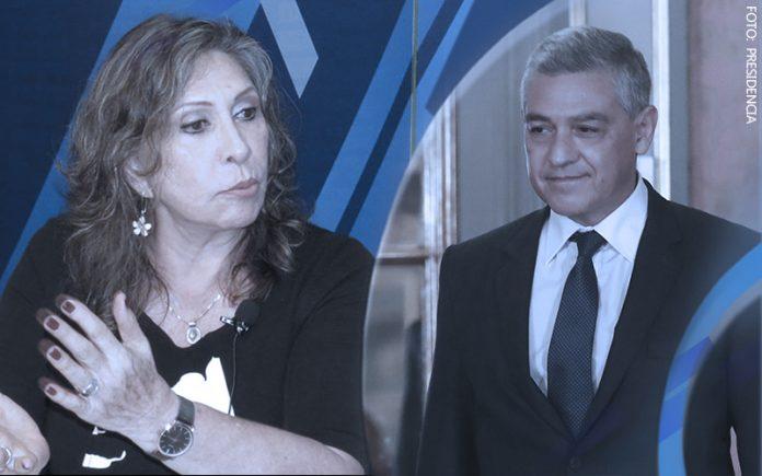 Zenaida Solís - José Elice (Foto: Presidencia)
