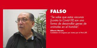 Alberto Morote - Foto: Noticias Ser