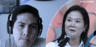 Mauricio Zavaleta - Keiko Fujimori (Foto: Andina)